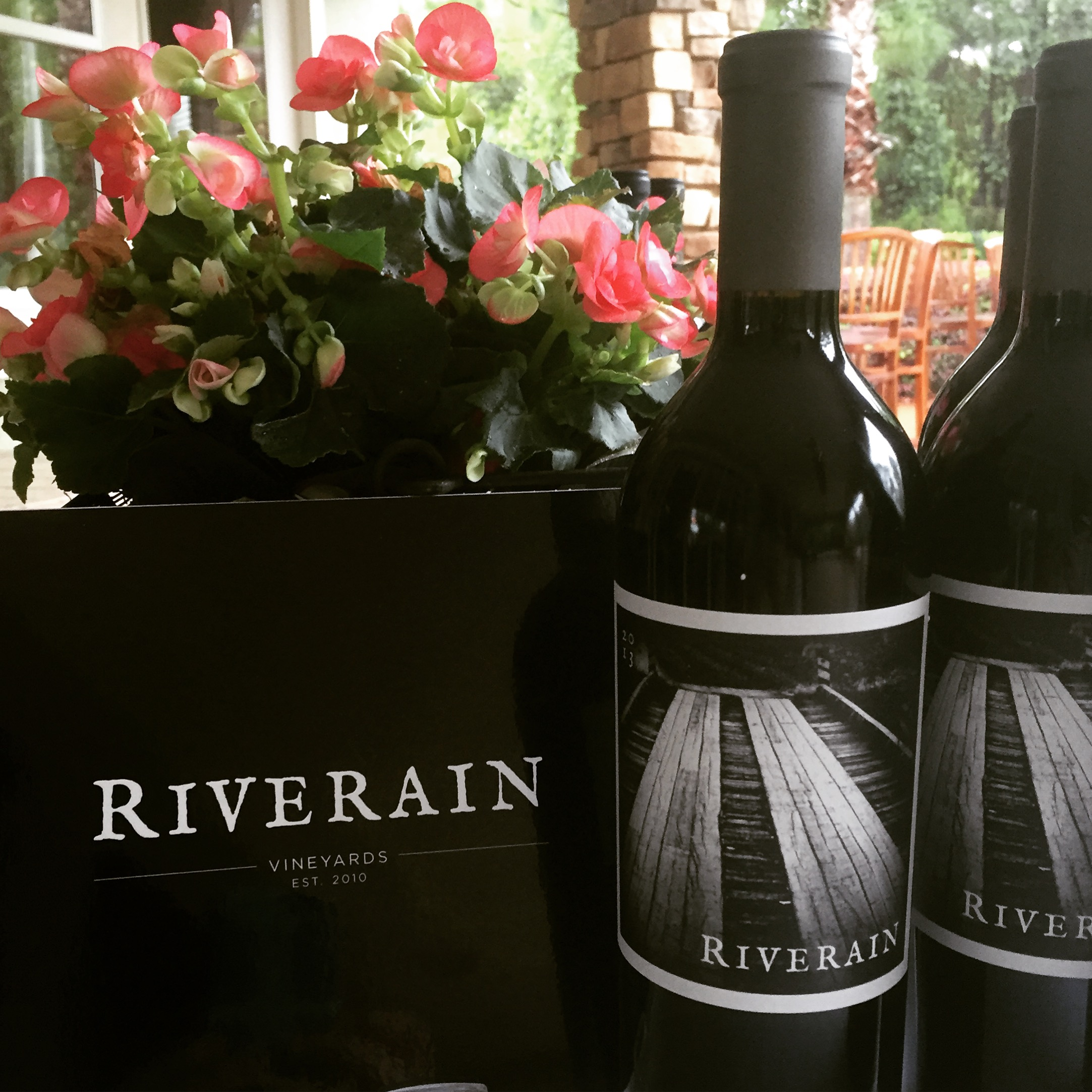 Riverain Cabernet from Tench Vineyards. Winemaker: Thomas Rivers Brown